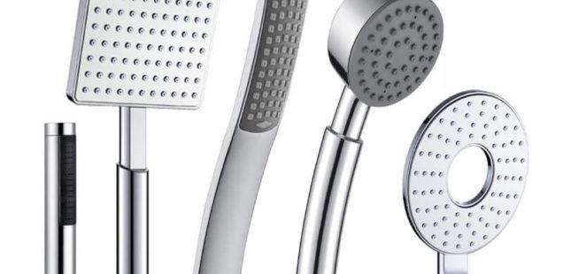 Different Shower Head Types